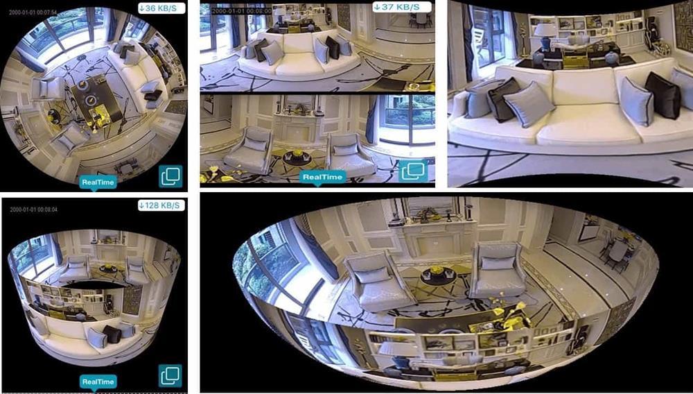 دوربین مداربسته لامپی V380
